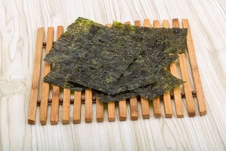 Dry nori - seaweed asian snack for sushi
