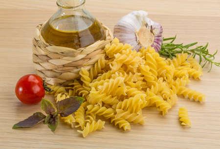 fusilli: Fusilli with tomato and herbs