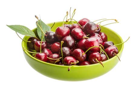 gean: Sweet ripe gean cherry berries