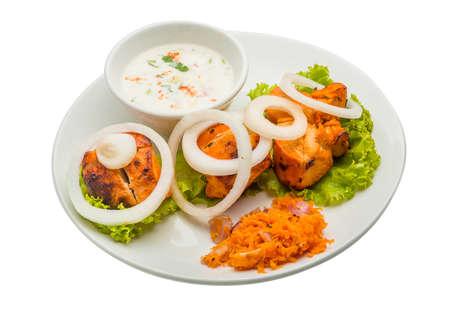 voile: chicken tikka