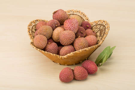 leechee: Famous Tropical fruit - lychee - fresh and sweet