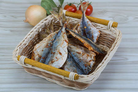 salted: Dry salted fishes