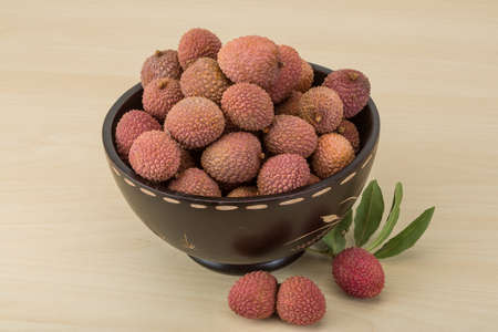 lichi: Famous Tropical fruit - lychee - fresh and sweet