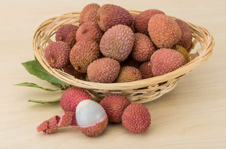 lechee: Famous Tropical fruit lychee