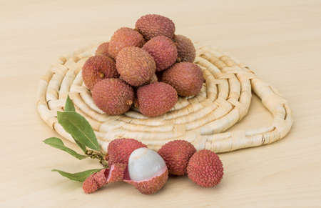 litschi: Famous Tropical fruit lychee