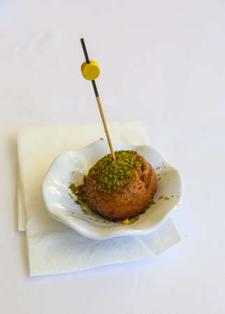 baklawa: Turkish delicous Baklava - with honey and nuts