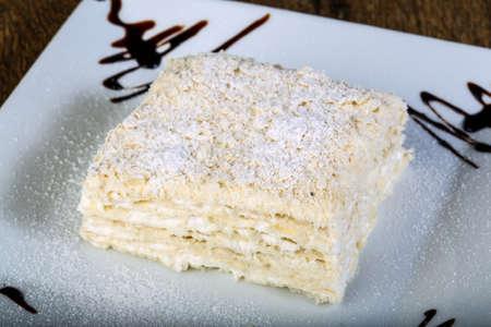 multi layered: Cake Napoleon - multi layered pie