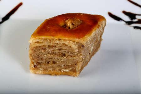 baklawa: Turkish deliicous - baklava with wallnut