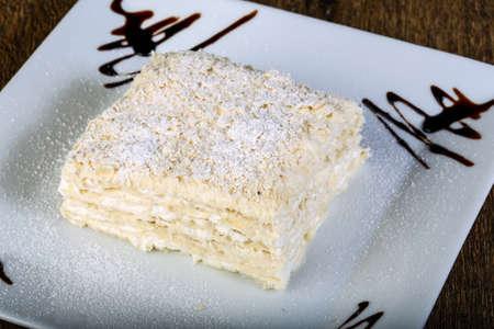 napoleon: Cake Napoleon - multi layered pie