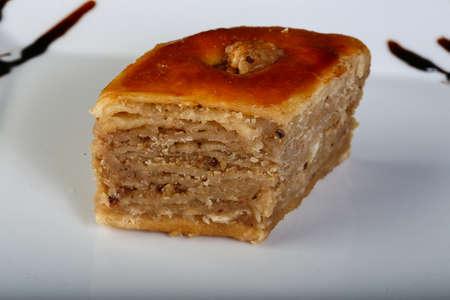 baklava: Turkish deliicous - baklava with wallnut