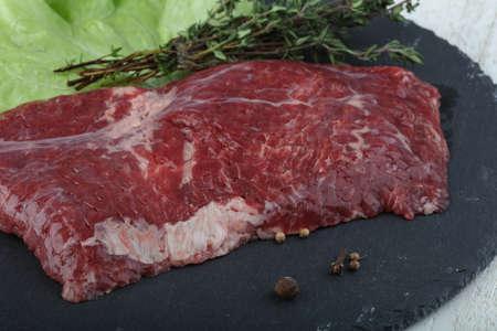 machete: Raw machete steak ready for cooking Stock Photo