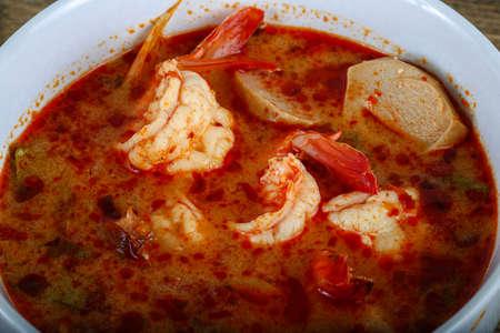 tom': Traditional Thai cuisine - Tom yam soup