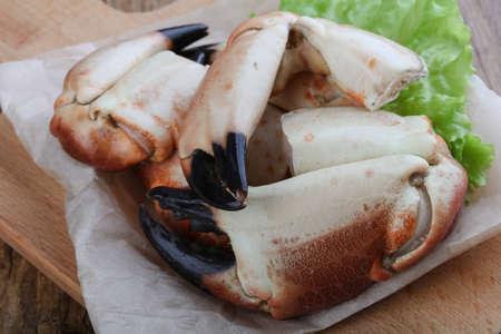 Frische Meeresfrüchte - Crad Krallen mit Zartheit Fleisch