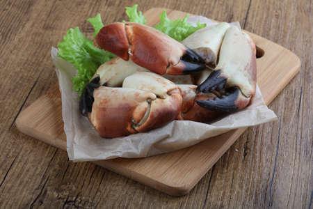 manjar: Los mariscos frescos - garras Crad con carne delicadeza