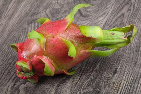 Dragonfruit - asian fruit on the wood background