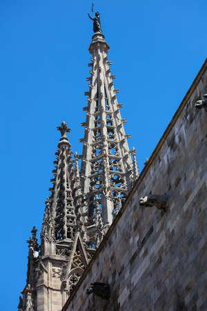 gotico: Casas históricas de Barri Gòtic. Barcelona, ??España Editorial
