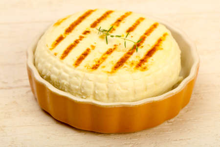 Grilled cheese suluguni