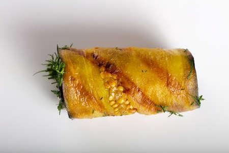 filled roll: Stuffed Eggplant roll