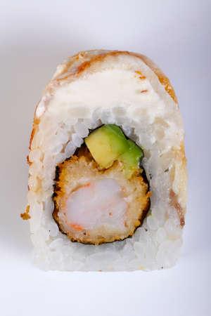 Tradittional Japan Eel roll 版權商用圖片