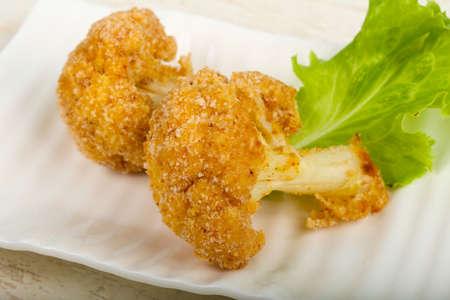Dietary Crispy cauliflower Stock Photo