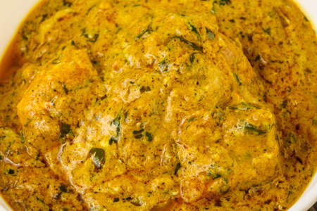 Indian traditional cuisine - Chicken tikka masala Stock Photo