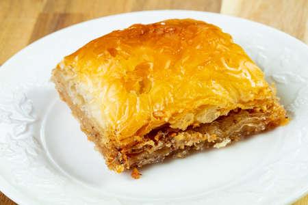 Sweet delight - Baklava with nuts Stock fotó