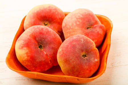 Sweet and juicy peaches