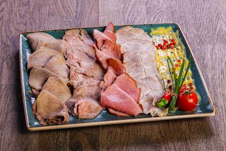 carne de cerdo carne aperitivo surtido