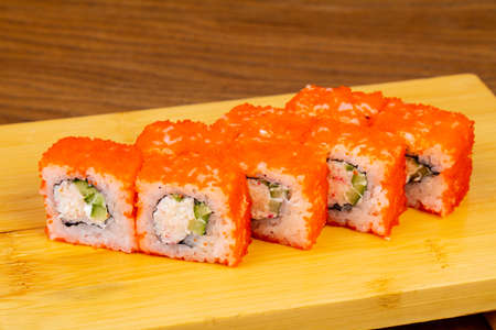 Delicious California sushi roll set