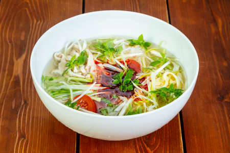 Vietnam traditional beef Pho soup
