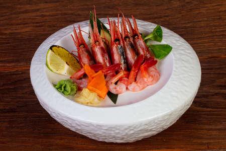 Japanese cuisine sashimi sweet Prawn