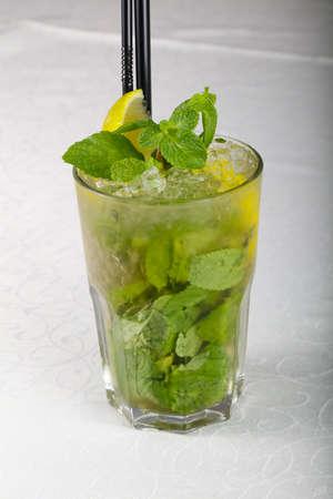 Cold Mojito cocktail
