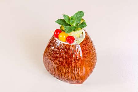 Hawaii cocktail bar drink Stock Photo