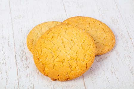Sweet tasty hot cookies pastries Stock Photo