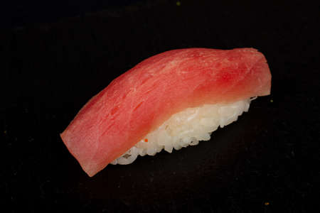 Japanese cold sushi with tuna