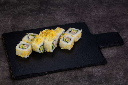 Japanese traditional roll with prawn 写真素材 - 107020295