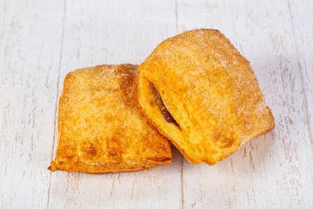 Sweet tasty hot coockies pastrie Stock Photo