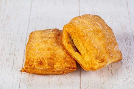 Sweet tasty hot cookies pastry Stockfoto