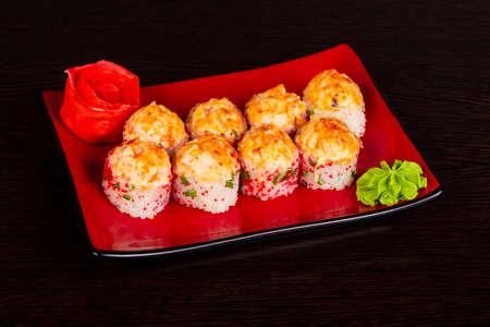 Japanese hot tasty baked roll