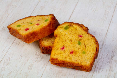 Delicious easter cake with dried fruits Standard-Bild