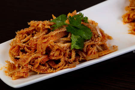 Chinese cuisine - Spicy beef stomach