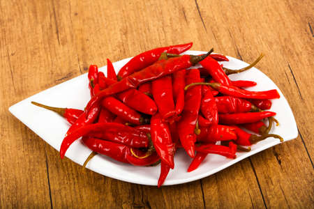 Pickled chili peppers