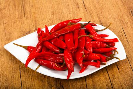 Pickled chili peppers Reklamní fotografie - 112007653