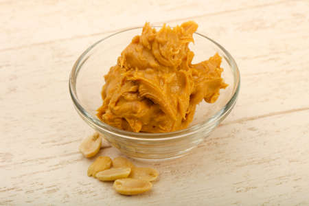 Peanut butter with nuts