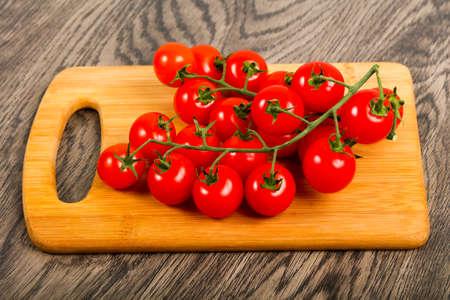 Cherry tomato on the branch 写真素材