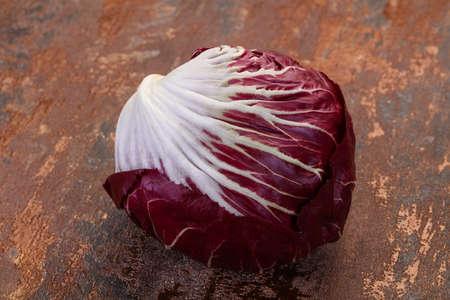 Fresh radicchio salad for cooking Stockfoto