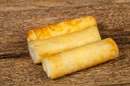 Roasted hot stuffed spring roll