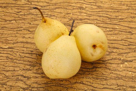 Juicy ripe yellow Chinese pear