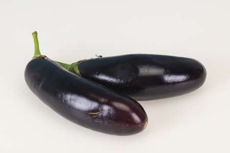 Ripe Eggplant isolated on white background Reklamní fotografie