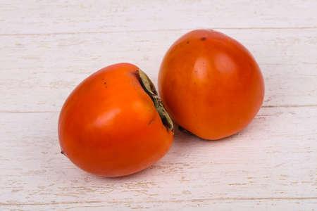 Sweet tasty rioe persimmon fruit